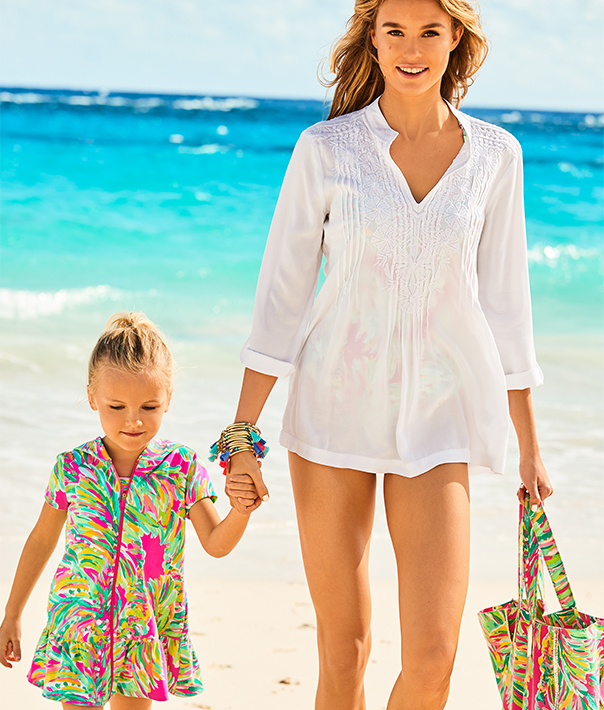 Matching Mom Cover Ups,