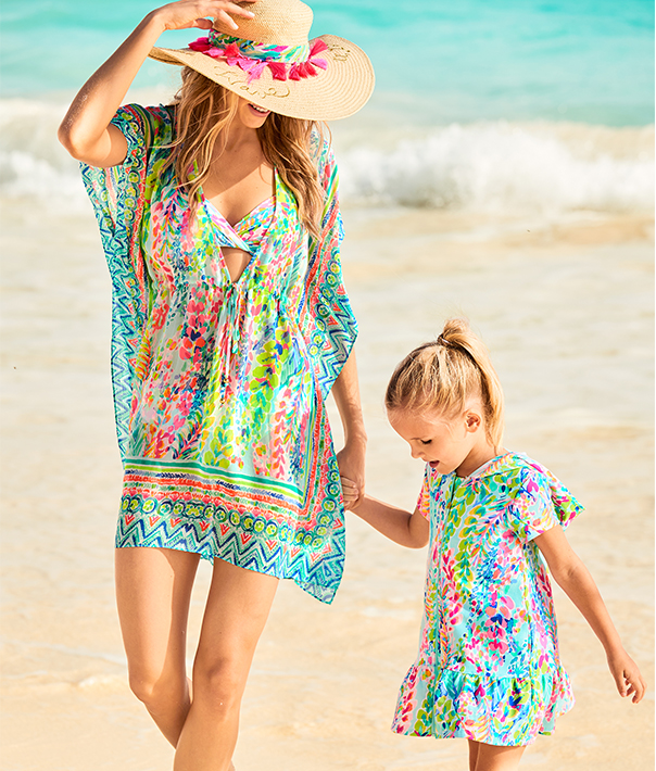 Mommy And Me Cover Ups,