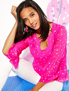 New Tops From Lilly Pulitzer