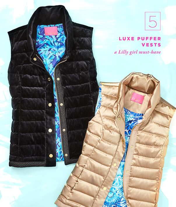 Gift Guide 2018: Luxe Puffer Vests,