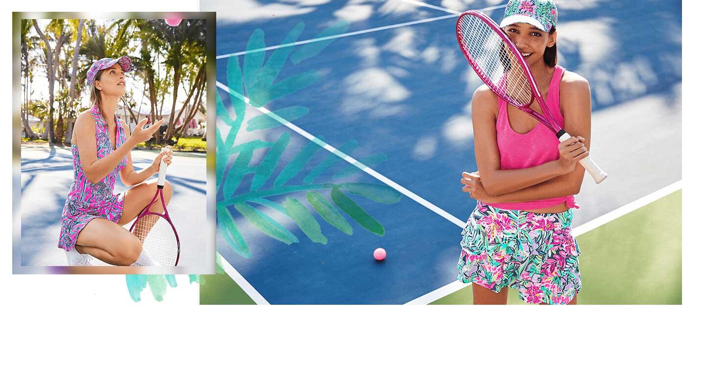 Luxletic Tennis Activewear Collection