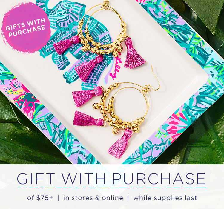 Jewelry gifts with purchase
