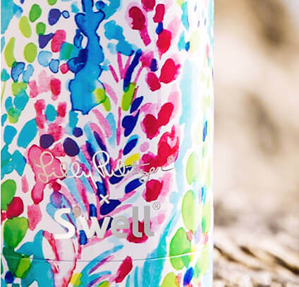 Lilly Pulitzer S'well Printed Bottle