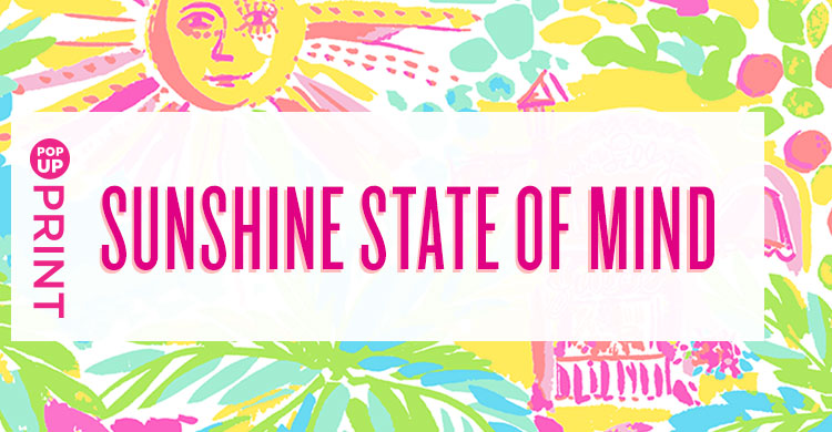 Sunshine state of mind print