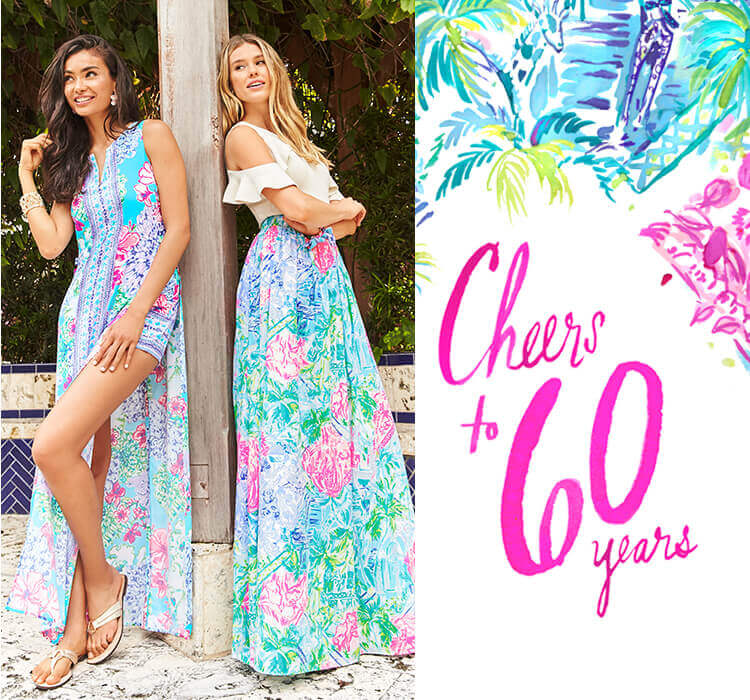 Cheers to 60 Years New Printed Dresses