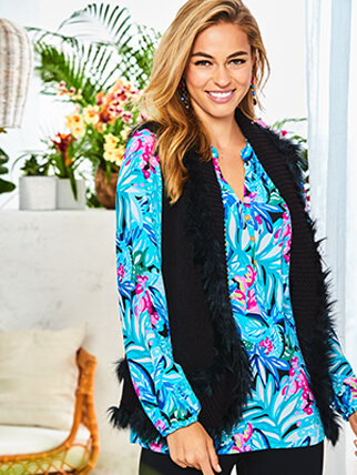 Lilly model wearing Lilly's Favorites