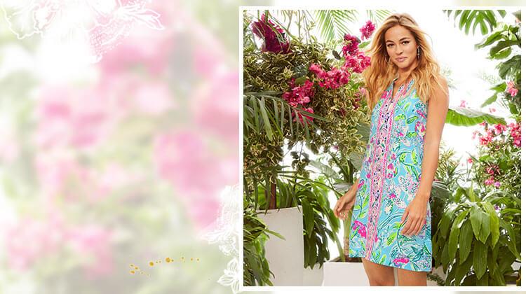 Spring Printed Dress