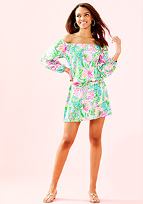 Lilly of the Jungle Lana Skort Romper