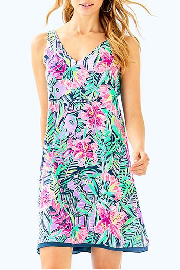 florin sleeveless dress
