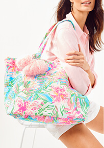 Lilly of the Jungle Tote Bag