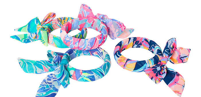 Free Fabric Bracelet with $75 Purchase