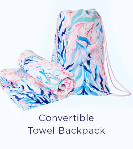Convertible Towel Backpack