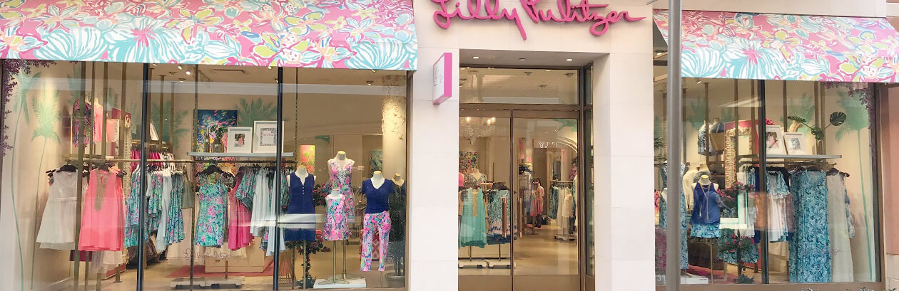 Lilly Pulitzer Store at Short Pump Town Center - Richmond, Virginia