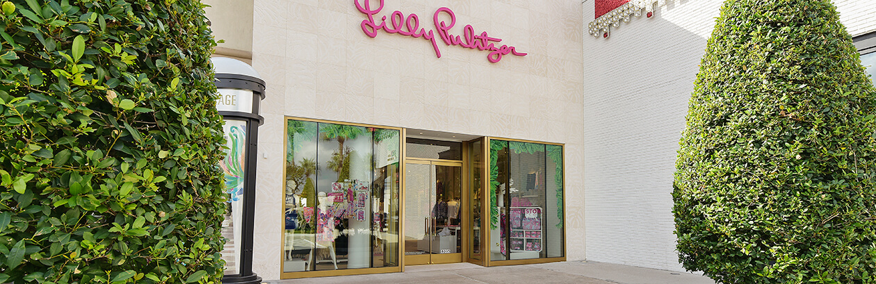 Lilly Pulitzer Store at Highland Village Shopping Center - Houston, Texas