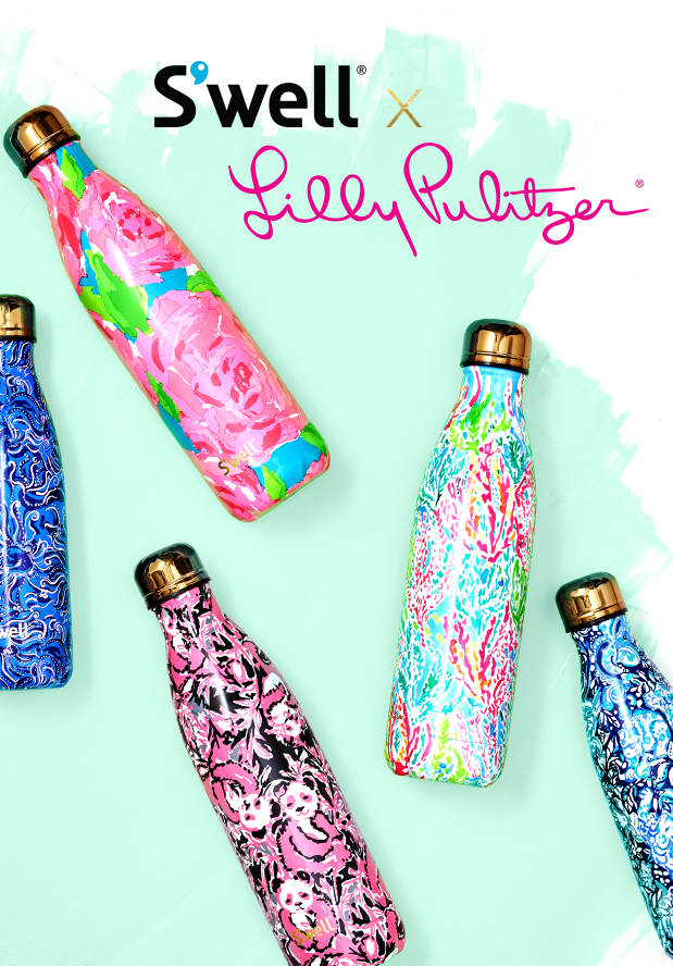 a88e8d9654 ... new s well bottles from lilly pulitzer · lilly pulitzer swell ...