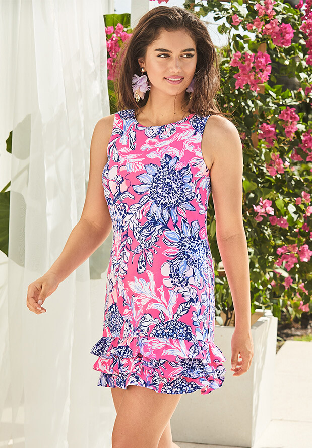 5ced1afd58e Shop Rompers and Jumpsuits From Lilly Pulitzer. Sunshine Forever. Marla  Romper. Shop Now
