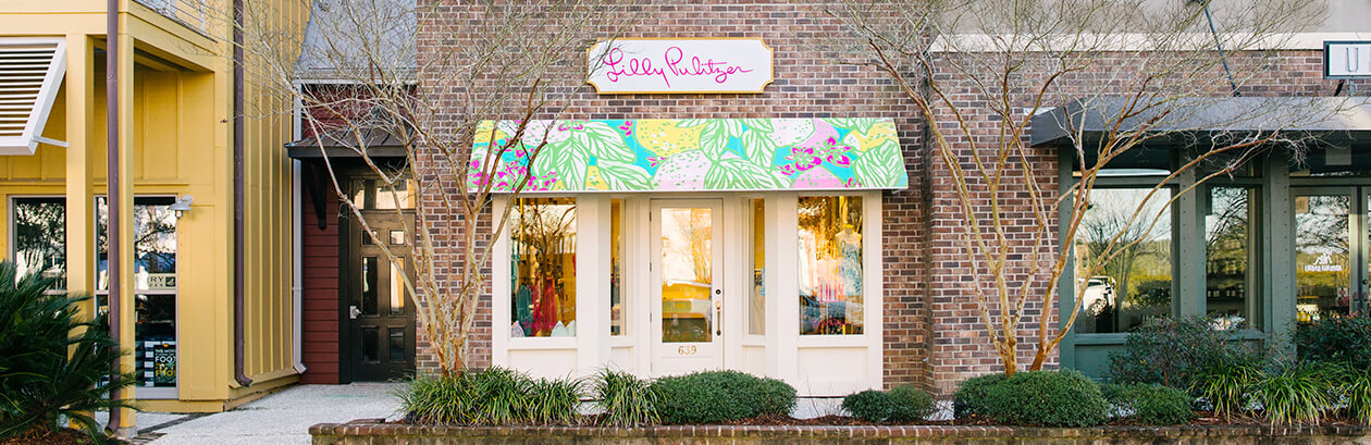 Lilly Pulitzer Store in Kiawah Island, South Carolina