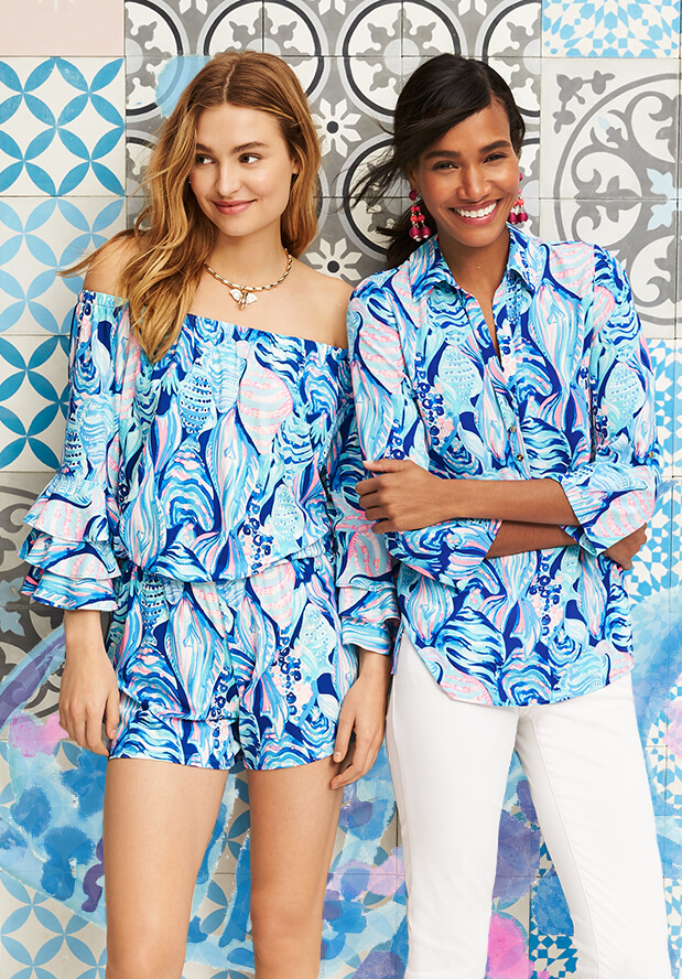 Shop Rompers and Jumpsuits From Lilly Pulitzer