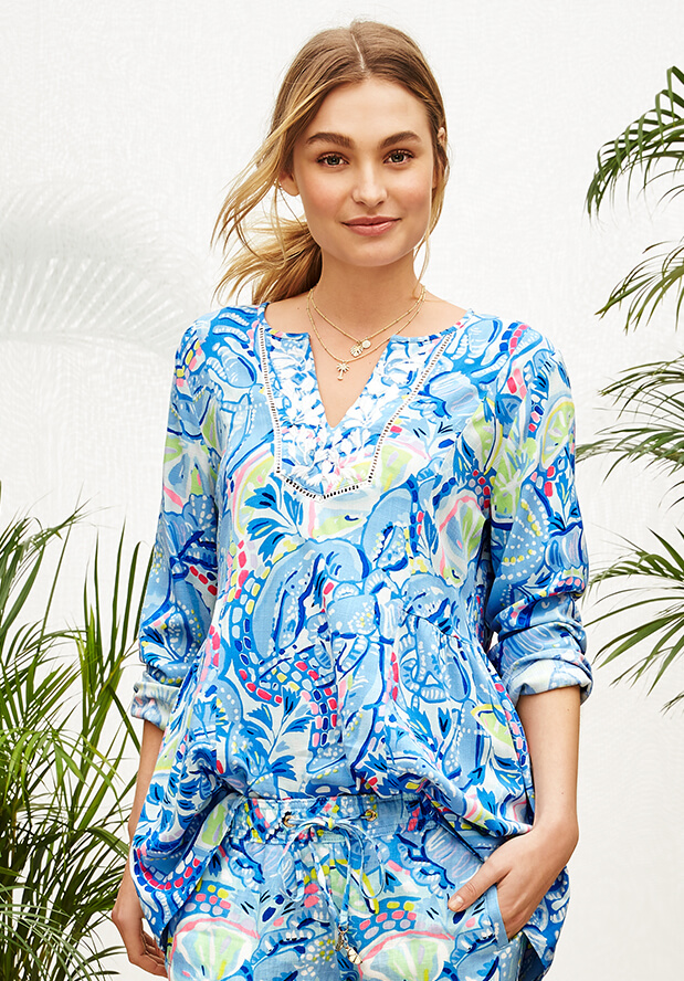 Shop New Tops From Lilly Pulitzer