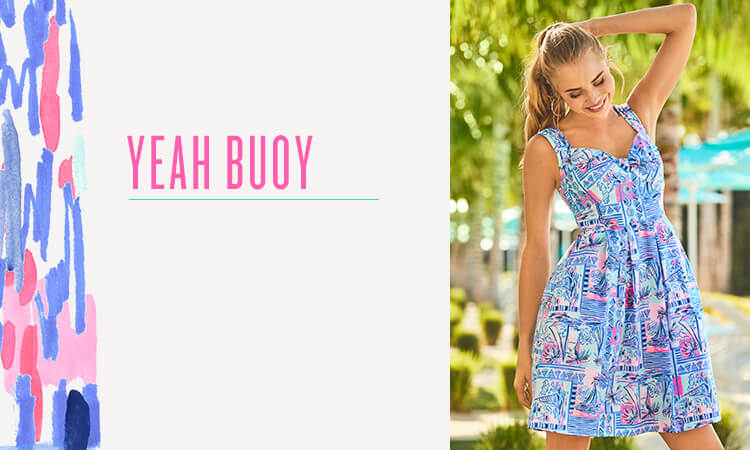 On 4th Of July Just This One Time I >> Yeah Buoy Shop By Print Lilly Pulitzer