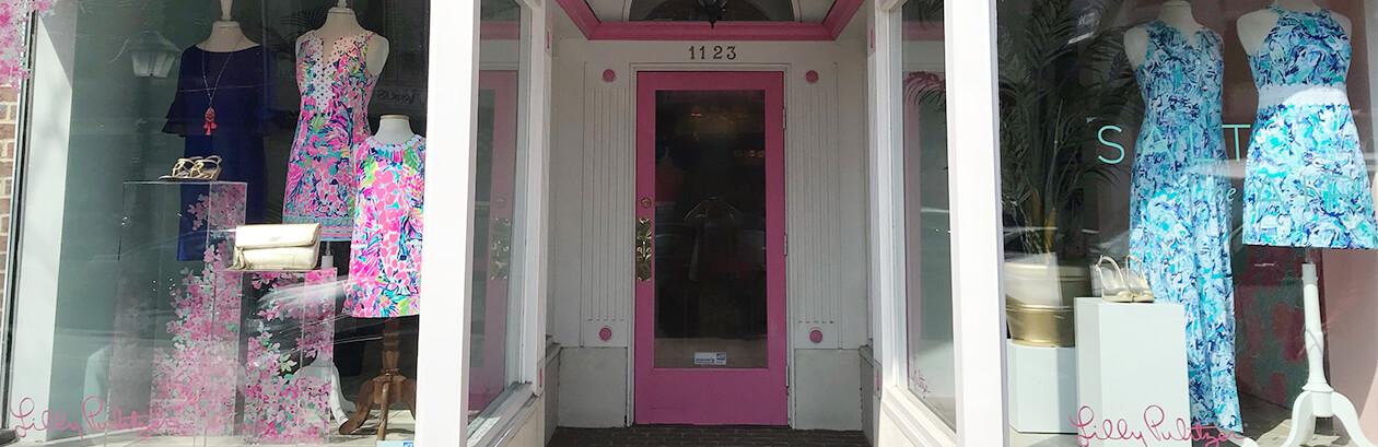 Lilly Pulitzer Store in Alexandria, Virginia