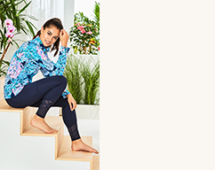 model wearing Activewear & Lounge