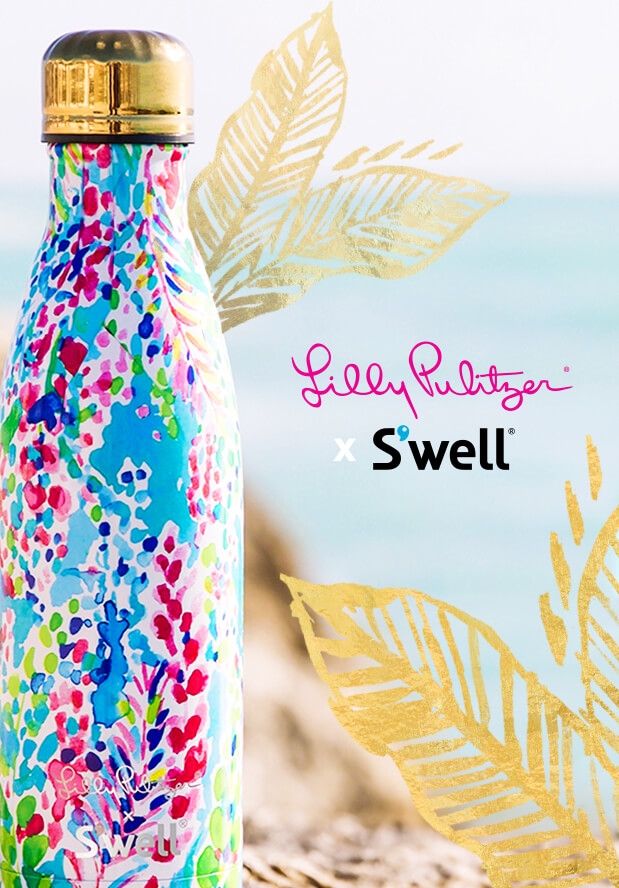 Lilly Pulitzer x S'well Bottles are back for a limited time!