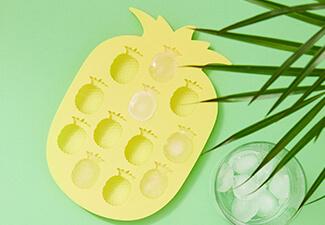 ba6d2a2cfb1 Pineapple ice cube tray