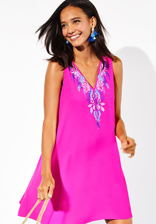 Shop Solid Dresses From Lilly Pulitzer