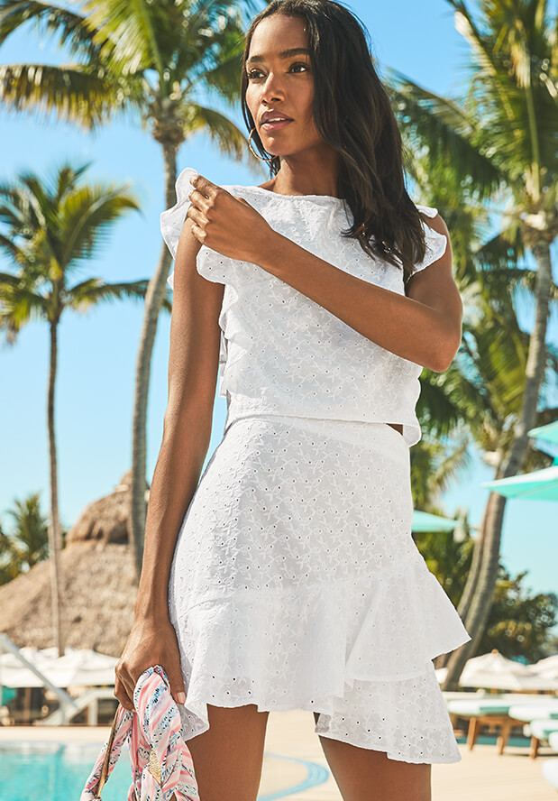 f81934ae6d8cd1 White Dresses for Women: Resort, Cocktail & Party | Lilly Pulitzer