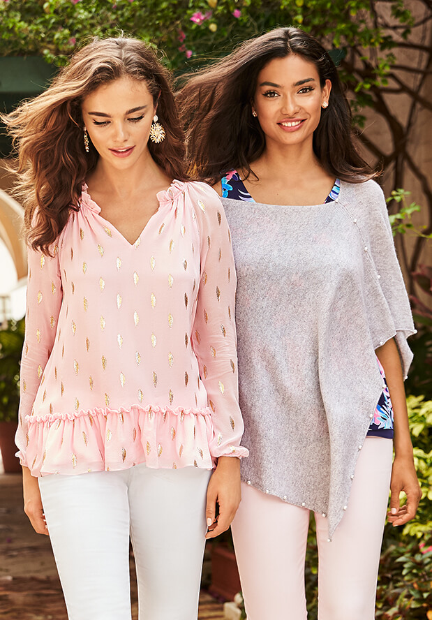 Shop New Tunics From Lilly Pulitzer